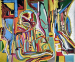 Abstract artists view on homelessness