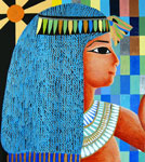 Painted after an Egyptian relief, by Marten Jansen
