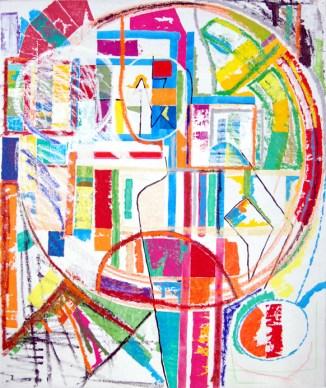 Abstract X, abstract art by Marten Jansen