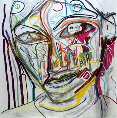 Bittersweet, abstract art by Marten Jansen