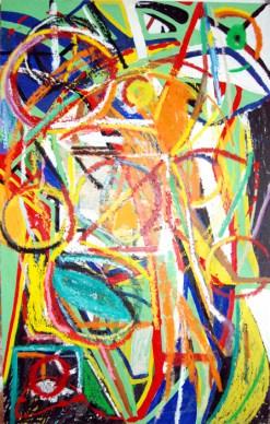 Pure abstract art XI, by modern artist Marten Jansen