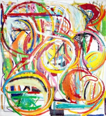 Pure abstract art IX, by modern artist Marten Jansen