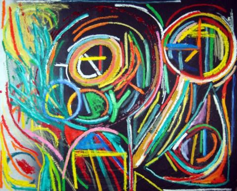 X Marks the Spot, by modern artist Marten Jansen