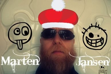 Marten Jansen wishes Merry Christmas